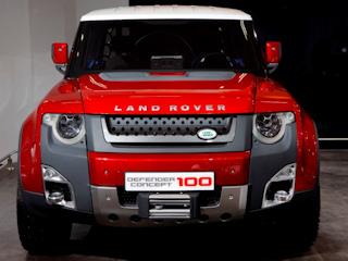 Koncepcyjne modele Land Rovera na New Delhi Auto Expo