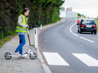 Odblaski na ratunek pieszym
