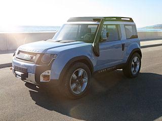 Land Rover przyszłości debiutuje na rynku amerykańskim