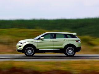 Range Rover Evoque najlepszym SUV-em
