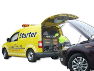 87 proc. awarii naprawionych na drodze z firmą Starter.