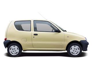 Fiat Seicento - tani samochód na codzień.