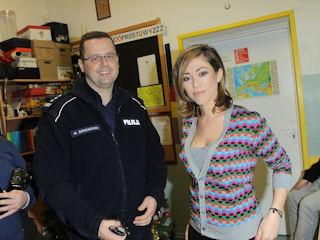 SpongeBob i Natalia Kukulska z wizytą w podwarszawskiej szkole.