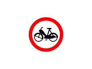 B-10: zakaz wjazdu motorowerów