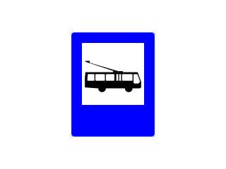 D-16: przystanek trolejbusowy