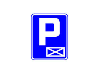 D-18a: parking - miejsce zastrzeżone