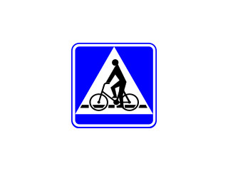 D-6a: przejazd dla rowerzystów