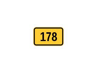 E-15b: numer drogi wojewódzkiej