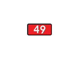 E-15g: numer drogi krajowej o dopuszczalnym nacisku osi pojazdu 8 t