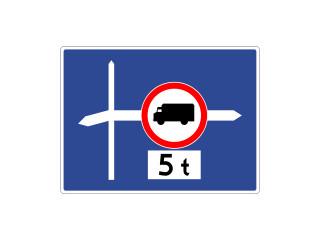 F-6: znak uprzedzający umieszczany przed skrzyżowaniem